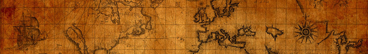 International - Old World Map-banner