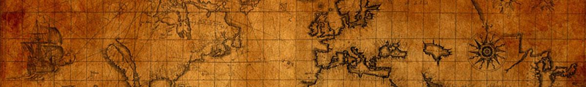 International - Old World Map-banner